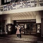 Hochzeitsshooting im Kino