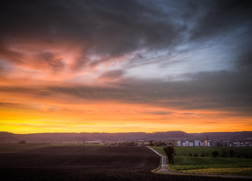 Öhringen_Landschaftsbild_Sonnenaufgang_HDR
