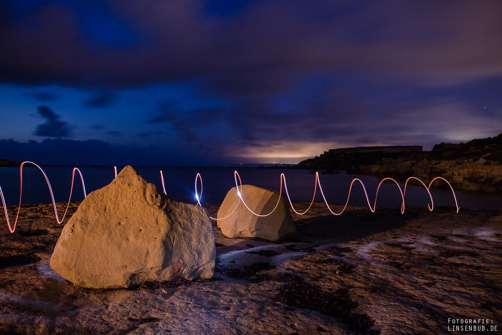 Lightpainting mit Taschenlampe :)