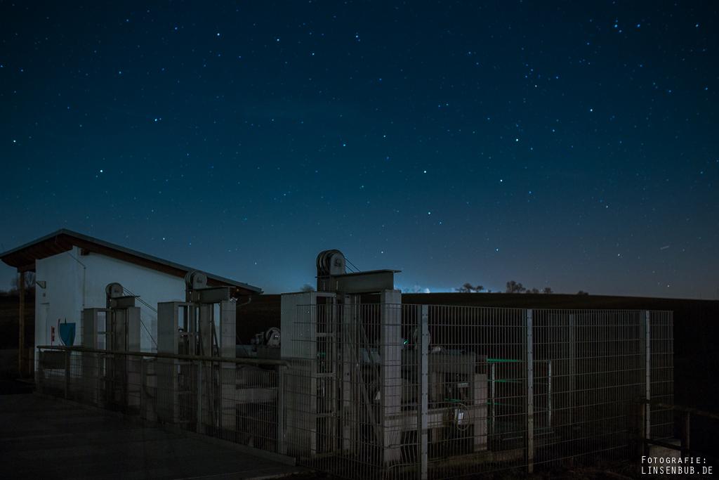"""Ein Problem bei solchen Bildern: Der """"Glow"""" der Stadtlichter"""