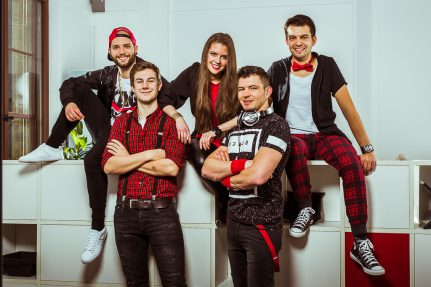 Shooting mit der TETs Partyband