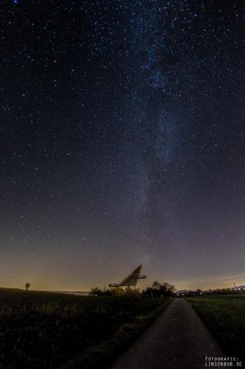 A little bit of Milky Way