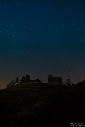 Sterne über Burg Neipperg