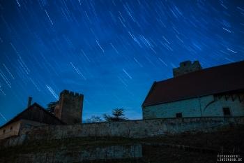 Startrails Burg Neipperg