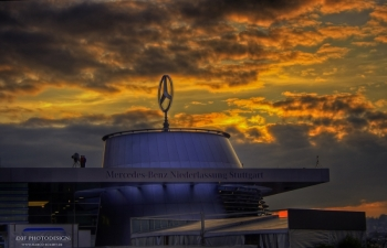 Benz Museum Stuttgart - On top