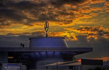 Benz Museum Stuttgart - On top
