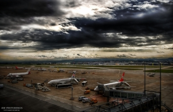 Stuttgart Airport HDR