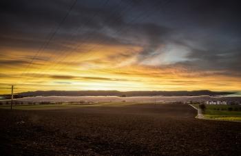 Öhringen HDR Sonnenaufgang 2