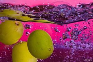 Splash Trauben